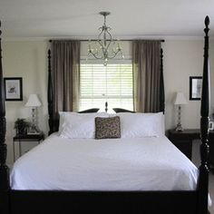 18 best bed in front of window images bed room bedroom ideas rh pinterest com  bed in front of window small room