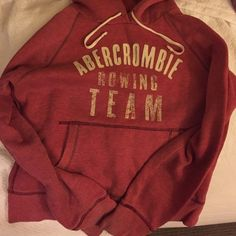 Abercrombie & Fitch hoodie Abercrombie & Fitch Rowing Team hoodie (pinkish/red color) Abercrombie & Fitch Tops Sweatshirts & Hoodies