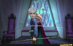 Jack Frost Movie, Elsa E Jack, Jack Frost And Elsa, Jelsa, Modern Day Disney, Disney Prices, Funny Disney Jokes, Birthday Quotes For Best Friend, Disney Couples