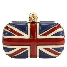 AMAZING. ALEXANDER MCQUEEN.  http://www.alexandermcqueen.com/us/en/shop/Womenswear/Shop/Bags/Clutch/P-BRITANNIA-SKULL-BOX-CLUTCH.aspx