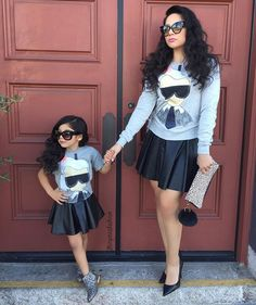 Mommy and me matching outfits done right! :)