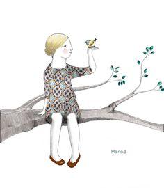 :) Marad Ilustración