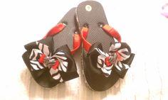 Custom Flip Flops by PrincessBellasBoutiq on Etsy, $20.00