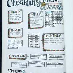 Bujo cleaning