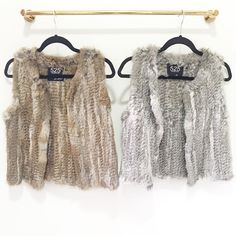 Whether you're rooting for the Skins or Cowboys tomorrow make your team colors look fabulous with a @525america fur vest #mondaynightfootball #teamspirit #staywarm #needthis #DC #shoprefine