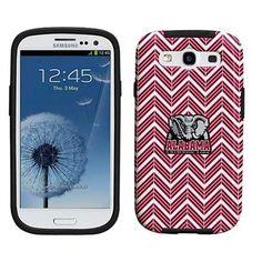 Alabama Crimson Tide Samsung Galaxy S3 Chevron Vibe Case - Crimson ....definitely getting this if I get a galaxy phone when I move to London