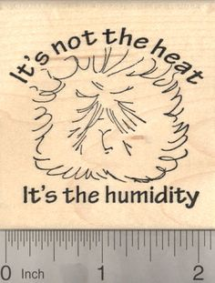 Guinea Pig Rubber Stamp, Summer weather, It's not the heat, it's the humidity (J22218) $11 at RubberHedgehog.com