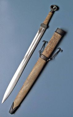 My family were sword makers. Can you imagine if we are the same time crafters of this sword.