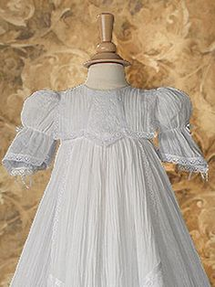 Victorian Lace Heirloom Christening Gown - Christening & Baptism Gowns