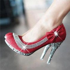 a new take on ruby slippers? these are pretty dazzling!