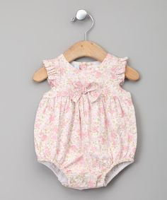 Rosa Floral Bubble Bodysuit - Infant