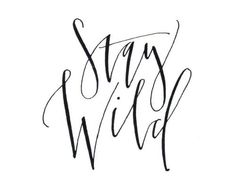 stay wild!