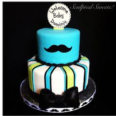 "little+man+cakes | Adorable ""little man"" cake found on Instagram. 