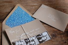 Crafty Thank You Notes via Project Wedding