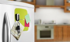 This sticky silicone pad that is capable of holding your keys to the fridge. | Can You Get Through This Post Without Spending $50?