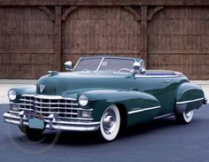 1947 Cadillac Model 52 - February 2014 Classic Cars Promotional Calendars