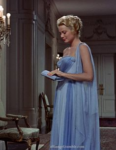 Alfa Angel:  Grace Kelly in a scene from Alfred Hitchcock's movie, To Catch a Thief