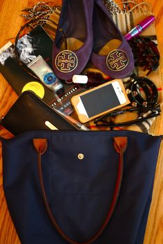 Tory Burch purple suede Reva flats Burberry scarf Jcrew headband Michael Kors Wallet Tory Burch bracelet RayBan glasses Stilla lipgloss Essie Wicked nailpolish L'Occitane shea butter hand cream Tory Burch iPhone case Maybelline Falsies mascara Jcrew tortiseshell hairclip Looking for a Alaska by John Green
