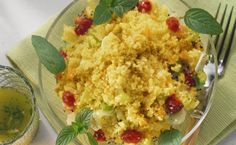 DINNER: Curried Couscous, Chickpea and Cranberry Salad. 300 calories/serving. #EpicureWLW
