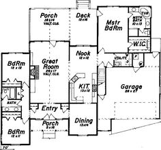 Best Ranch Style House Plan