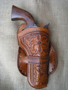 Cochise Single Loop Style Custom Gun Holster
