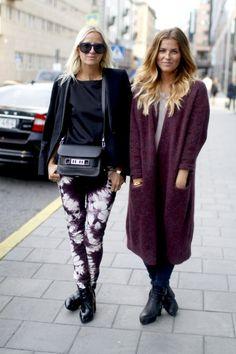 Style...Janka Polliani & Celine Aagaard // fall street style Stockholm // Scandinavian style