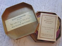 Bellin's Wonderstoen - antique hair removal stone - depiliatory - antique cosmetics, personal care -stone with original box. $8.95, via Etsy.