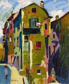 La Place Maubert by AUGUSTE HERBIN