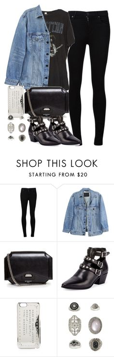 """Untitled #4210"" by maddie1128 ❤ liked on Polyvore featuring Citizens of Humanity, Y/Project, Givenchy, Yves Saint Laurent, Marc by Marc Jacobs and Topshop"