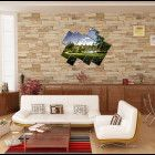 Modern Wall Art Canvas 3D Print Home Decor Painting Picture Framing