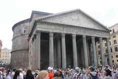 The best-preserved of all Ancient Roman buildings the Pantheon