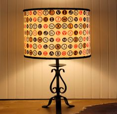 Type Me A Word Lampshade