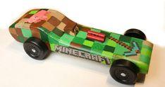 Minecraft Pinewood Derby car | Cub Scouts | Pinterest | Pinewood Derby ...