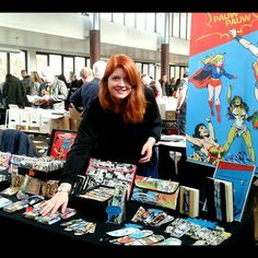Me and my booth at COMIC & MANGACONVENTION in Hamburg at 4.march 😊👍🎉!!! #cmc #pauwpauwproducts #comiccon #hamburg #pauwpauwbooth #comicupcycling #madeinberlin