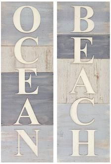 More signs for the beach house