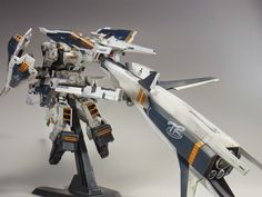 "Custom Build: RG x HG 1/144 Gundam TR-1 [Hazel-Rah] Second Form with Booster ""Cruiser Mode"" - Gundam Kits Collection News and Reviews"
