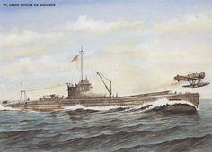 The I-14, a World War II Japanese submarine aircraft carrier has been ...
