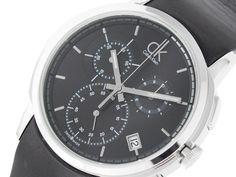 Scegli un orologio da polso CALVIN KLEIN, da uomo, se vuoi essere elegante, di tipo cronografo con bracciale in pelle con movimento al quarzo.