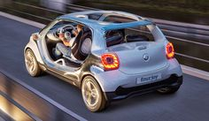 LA GAZETTE AUTOMOBILE: SMART FOURJOY - Concept-car - 2013