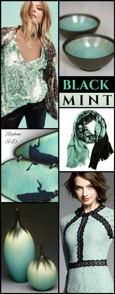 '' Black & Mint '' by Reyhan S.D.