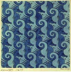 Escher's seahorses