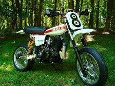 One of a kind Yamaha HL500 Supermoto