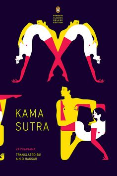 elegant cover solution for a delicate subject // kama sutra by paul buckley design, via Flickr