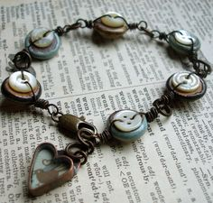 Vintage button bracelet, P1015482 by Lorelei1141, via Flickr