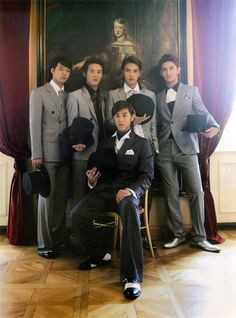 DBSK (from The Prince in Prague photo book)