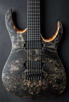 Mayones Guitars Basses Duvell 7 Elite. The exotic woods