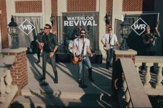Waterloo Revival Crash an Engagement Party in 'Backwood Bump' Video