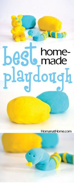 Edible, no-mess, soft homemade playdough ideal for kids. With only a few ingredients, this has the perfect consistency and keeps for months!