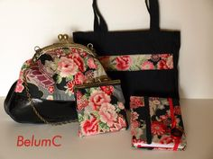 Conjunto de bolso, Handmade by BelumC in category Bags/Handbags. Located in Sevilla, España