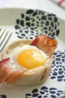 lakasito azul: 2 ideas para cenas express Tapas, Ideas Para, Eggs, Cooking, Breakfast, Vase, Shape, New Recipes, Cooking Recipes